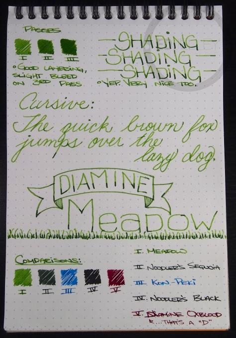 Diamine Meadow 2