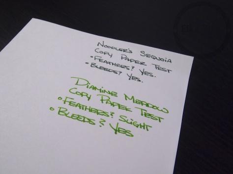 Diamine Meadow Copy Paper
