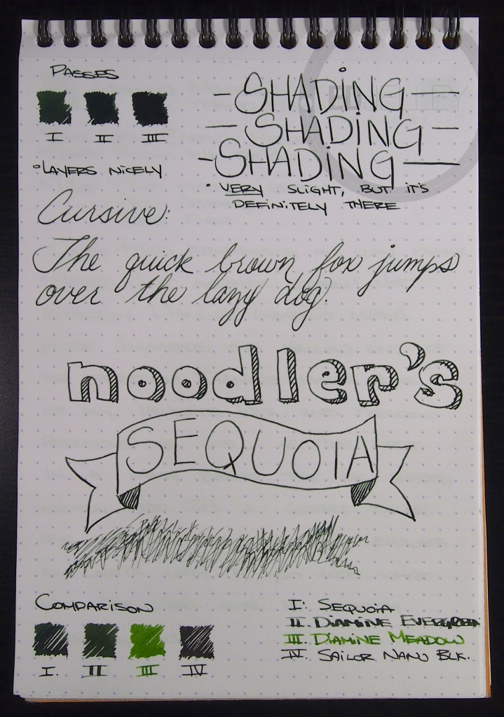 Noodlers Sequoia 2