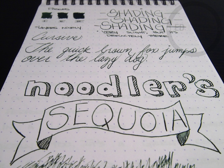 Noodlers Sequoia 9
