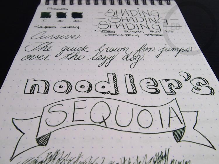 Noodlers Sequoia 9