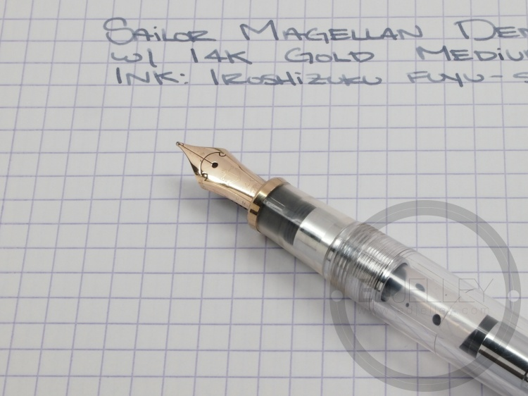 1998 Sailor Magellan Demonstrator Fountain Pen Review