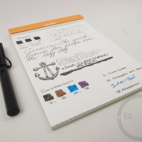 Sailor Kiwa Guro Nano Black - Ink Review
