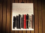 September Fountain Pen Loadout 1