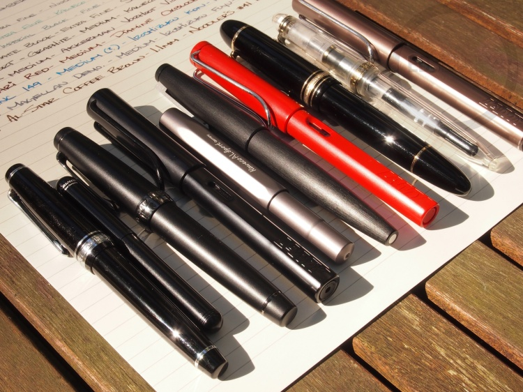 September Fountain Pen Loadout 4