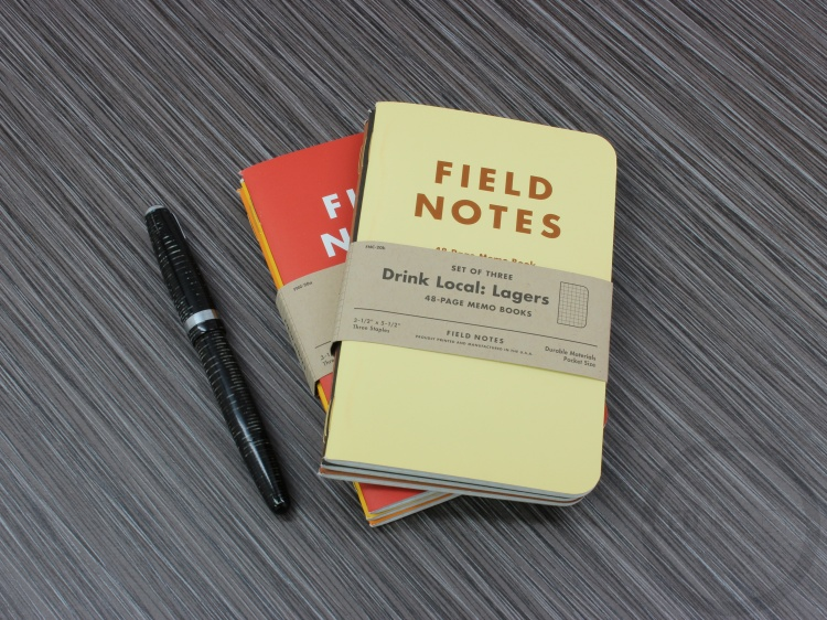 Field Notes Drink Local Edition Ales Lagers Fall 2013