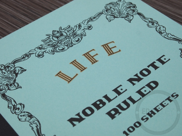 LIFE Notebook A5 Lined Ruling