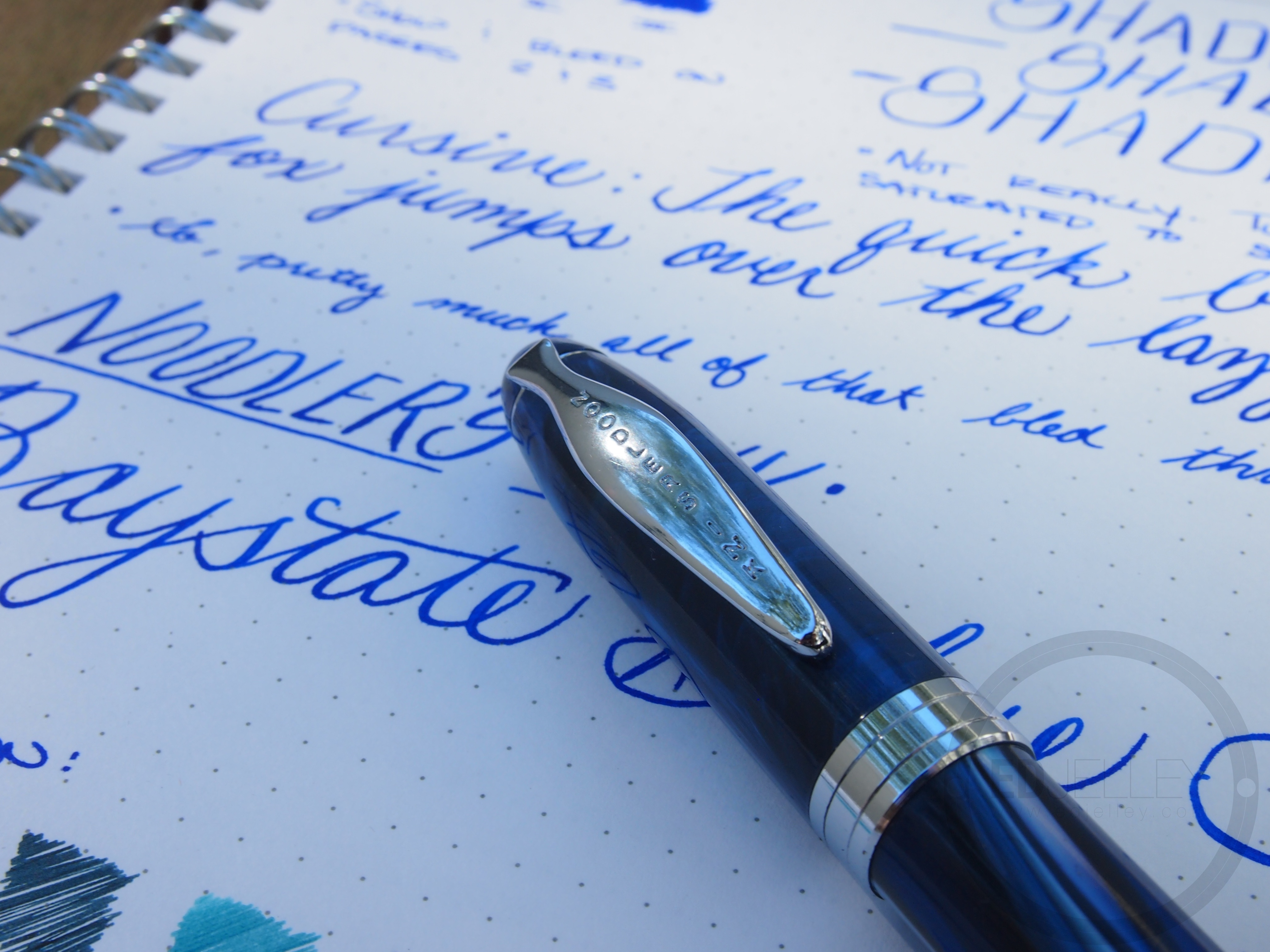 how to travel with fountain pen ink