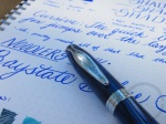Noodler's Baystate Blue Fountain Pen Ink Review