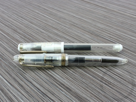 Sailor Clear Candy Gold Fountain Pen Review JetPens