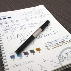 Diamine Registrar's Ink Fountain Pen Ink Review