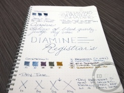 Diamine Registrar's Ink Fountain Pen Ink Review
