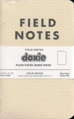 The limited edition Doxie Field Notes cover