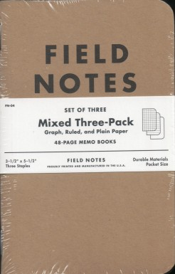 Regular Field Notes cover.
