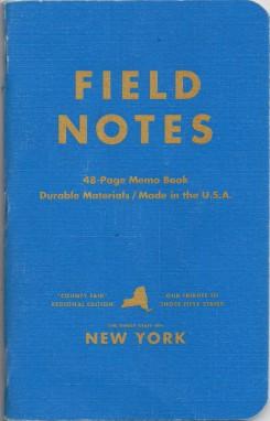 Field Notes County Fair edition