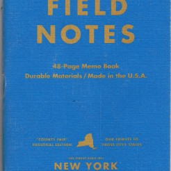 Field Notes County Fair edition