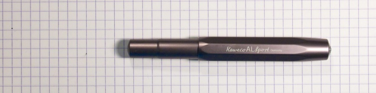 Kaweco AL-Sport in Graphite Fountain Pen
