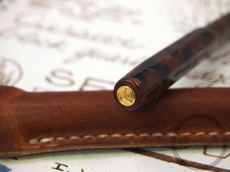 Kaweco Sepia Brown Fountain Pen Ink Review