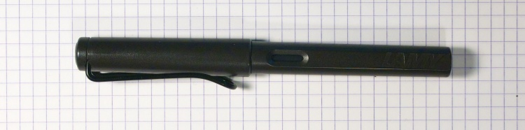 Lamy Safari in Charcoal Grey