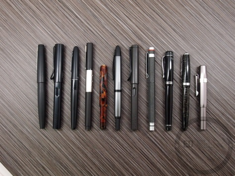 November 2013 Fountain Pen Loadout
