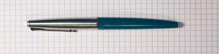 Parker 45 Fountain Pen in Vista Blue