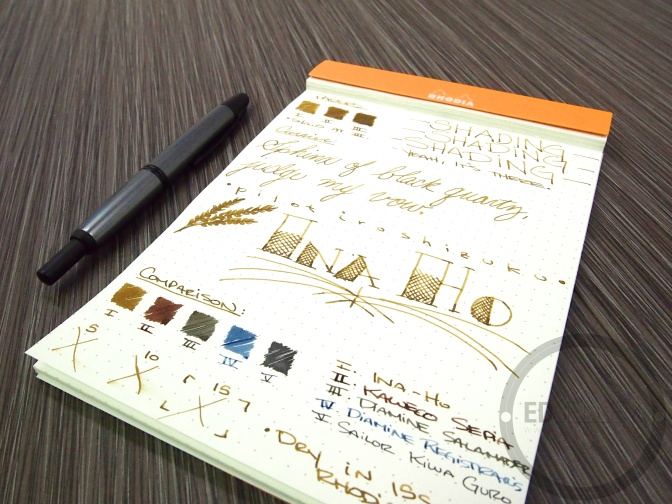 Pilot Iroshizuku Ina-Ho – Handwritten Ink Review