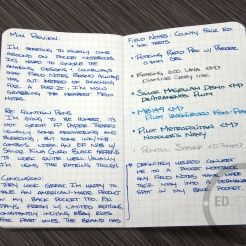 Field Notes County Fair New York Notebook Review