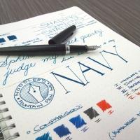 Noodler's Navy - Ink Review