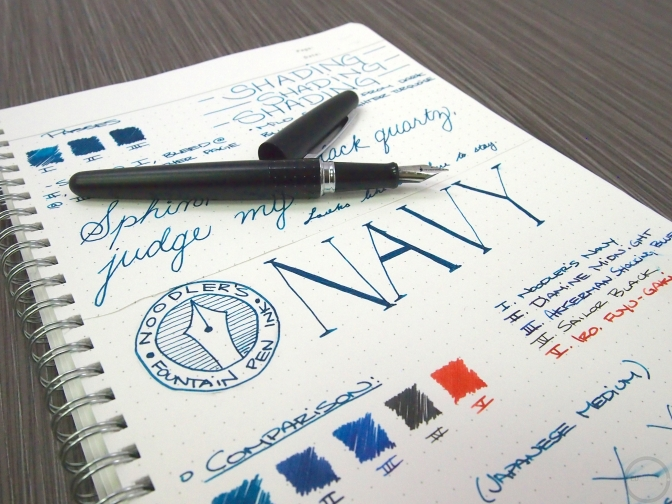 Noodler's Navy – Ink Review