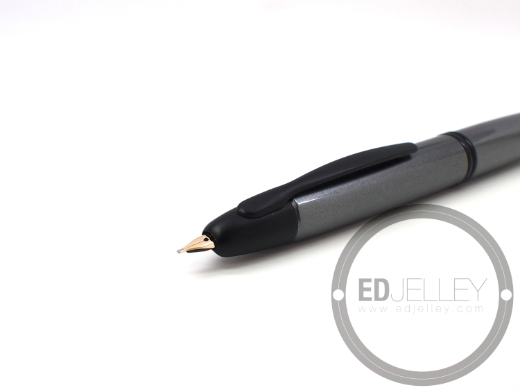 Pilot Vanishing Point Gunmetal Matte Fountain Pen