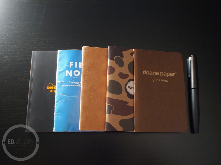 Pocket Notebooks Review Field Notes Doane Rhodia