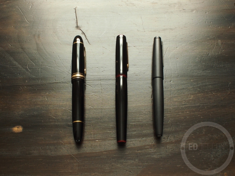 Buying a Grail Pen Nakaya Lamy 2000 Montblanc