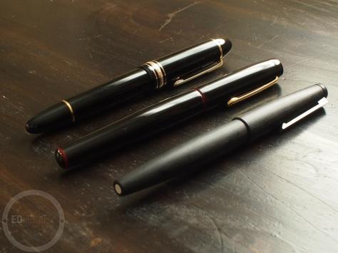 Buying a Grail Pen Nakaya Lamy 2000 Montblanc