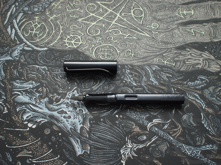 Lamy Al-Star Fountain Pen Matte Black Photo Post