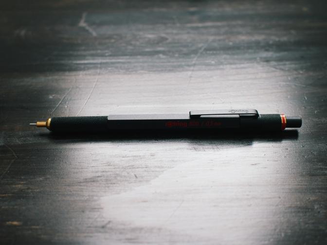 Rotring 800 Pencil Review  Rotring 800 Pencil Review