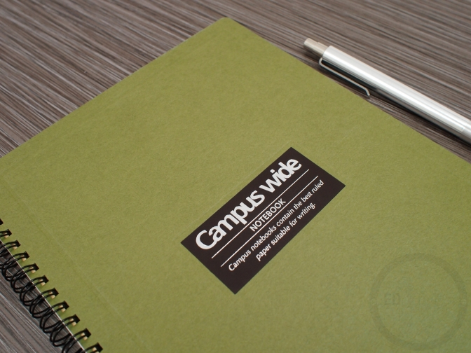 Kokuyo Campus Wide Notebook Review JetPens