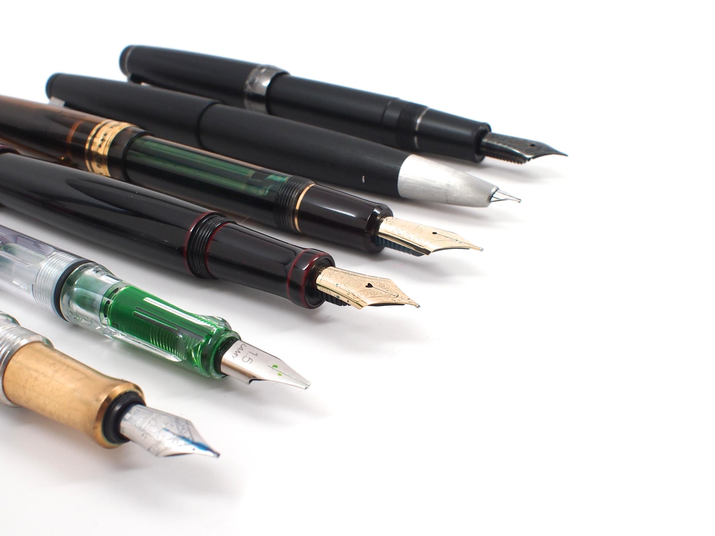 My march 2014 fountain pen ink loadout edjelley com fountain pen