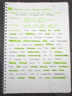 Pelikan M205 Duo Highlighter Green Fountain Pen Ink Review