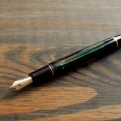 Pilot Custom 823 Fountain Pen Review with Hebrew Arabic Italic Grind by Richard Binder 5