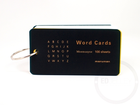Maruman Mnemosyne Word Cards Review