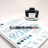 Pilot Iroshizuku Tsuki-Yo Fountain Pen Ink - Review