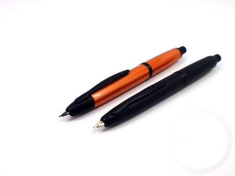 Pilot Vanishing Point Metallic Orange Fountain Pen Review