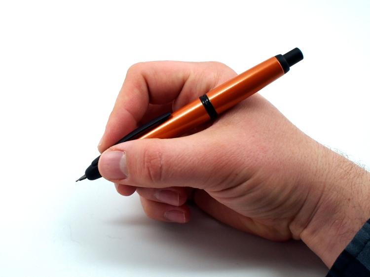 Pilot Vanishing Point Metallic Orange Fountain Pen Review