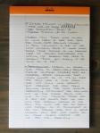 Omas Milord Arco Fine Nib Handwritten Review