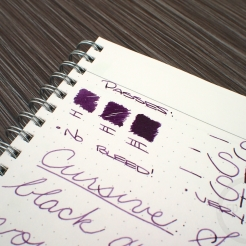 Kaweco Aubergine Fountain Pen Ink Review 5