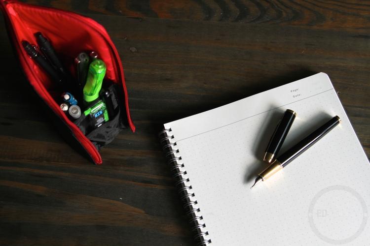 Kokuyo Neo Critz Pen Pencil Case Review 10