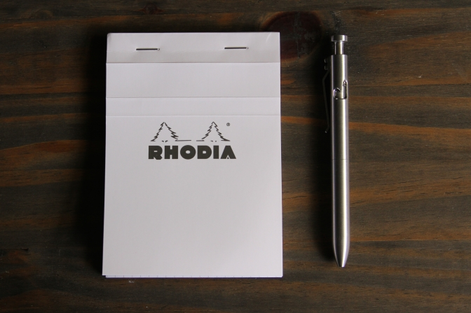 Rhodia Ice 80th Anniversary Notepad – Review