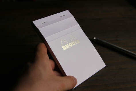 Rhodia ICE Notepad Review