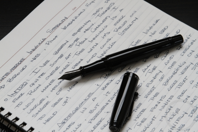 Monteverde Invincia Stealth Fountain Pen