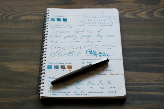 Organics Studio The Real Teal – Ink Review